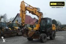 used Hyundai wheel excavator