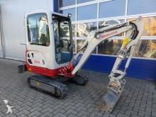 used Takeuchi mini excavator