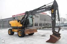 Volvo EW160 C WHEEL EXCAVATOR 18 tons VOLVO EW 160C PLOWSHARE