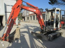 used Kubota mini excavator