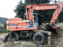 used Fiat Kobelco wheel excavator