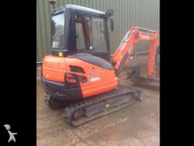 mini-excavator Kubota second-hand