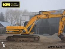 JCB track excavator