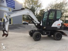 used Bobcat wheel excavator