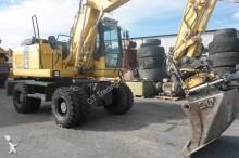 Komatsu wheel excavator