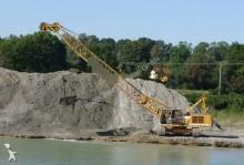 used Liebherr drag line excavator