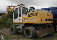 Liebherr A924 Excavator on wheels / Radbagger
