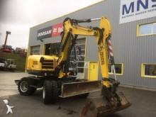 used Wacker Neuson wheel excavator