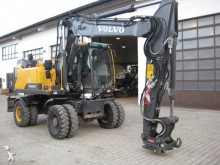 used Volvo wheel excavator