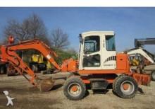 used Schaeff wheel excavator