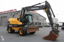 used Volvo wheel excavator