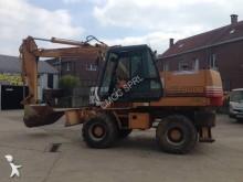 used Case-Poclain wheel excavator