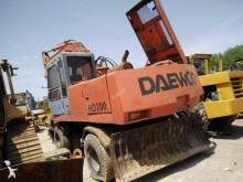 used Daewoo wheel excavator