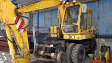 used O&K rail excavator