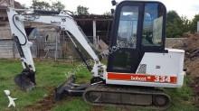 mini-excavator Bobcat second-hand