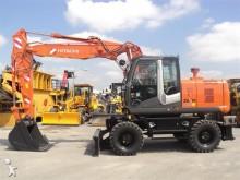 new Hitachi wheel excavator
