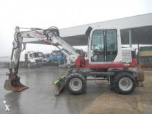 used Takeuchi wheel excavator