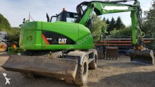 used Caterpillar wheel excavator