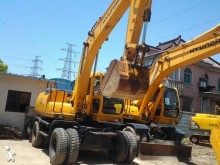 used Hyundai walking excavator