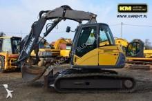used Mecalac track excavator