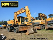 used Hyundai wheel excavator