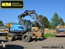 used Mecalac wheel excavator