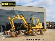used Komatsu wheel excavator