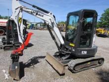 used Bobcat mini excavator