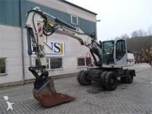 used Terex wheel excavator