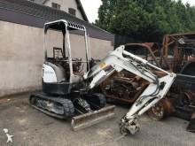 damaged Yanmar mini excavator