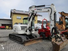 used Terex track excavator