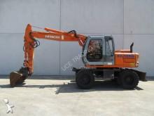 used Fiat-Hitachi wheel excavator