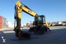 used Caterpillar wheel excavator