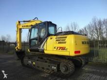 used New Holland track excavator