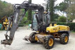 used Mecalac wheel excavator