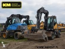 excavator pe roti Mecalac second-hand