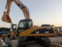 new Caterpillar track excavator
