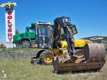escavatore gommato Mecalac usato