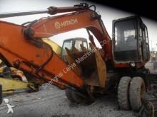 used Hitachi wheel excavator