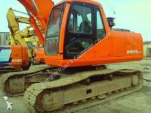 used Daewoo track excavator