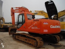 escavadora sobre rastos Daewoo usada