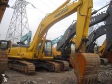 used Komatsu track excavator