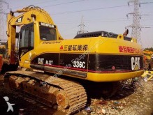 used Caterpillar track excavator
