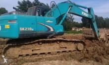 escavatore cingolato Kobelco usato