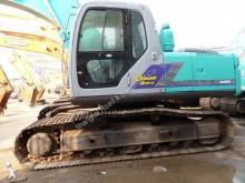 used Kobelco track excavator