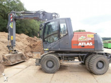 used Atlas wheel excavator
