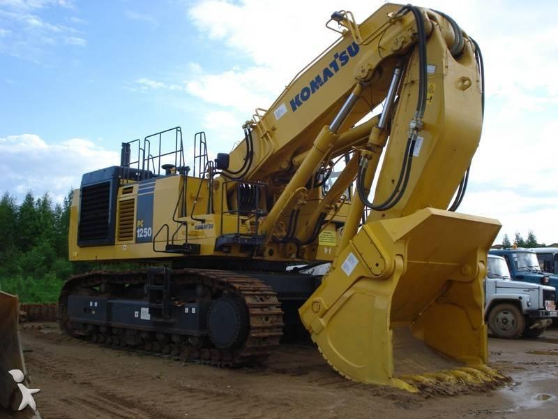 used komatsu pc1250sp8 track excavator pc12507 na n