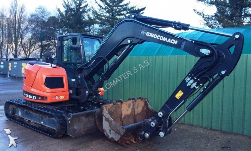 used eurocomach es 850 zt mini excavator n 1541534. Black Bedroom Furniture Sets. Home Design Ideas