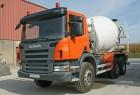 bétonnière Scania occasion