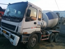 used Isuzu concrete mixer